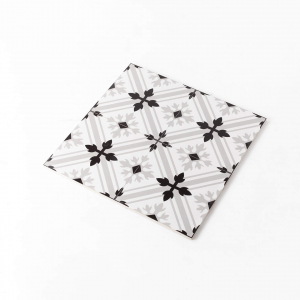 Pattern Tile Moden Black & White 2625 200X200 Matt