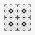 Pattern Tile Modern Black & White 2625_top