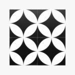 Pattern Tile Modern Black & White 2844