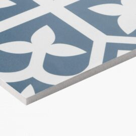 Pattern Tile Picasso Bloom Baby Blue