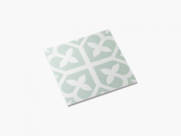 Pattern Tile Picasso Bloom Pale Green