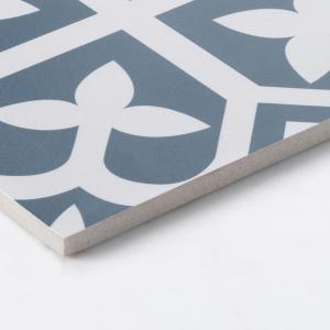 Pattern Tile Picasso Bloom Baby Blue 200x200 Matt