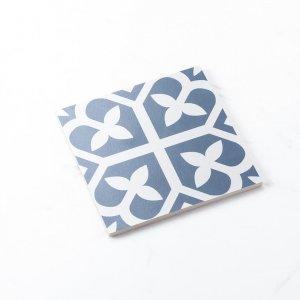 Pattern Tile Picasso BlooBaby Blue 200×200 Matt