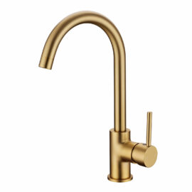 Pentro Kitchen Mixer Brushed Yellow Gold