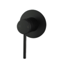 Pentro Round Shower Mixer Tap with 65nn Cover Plate Matte Black