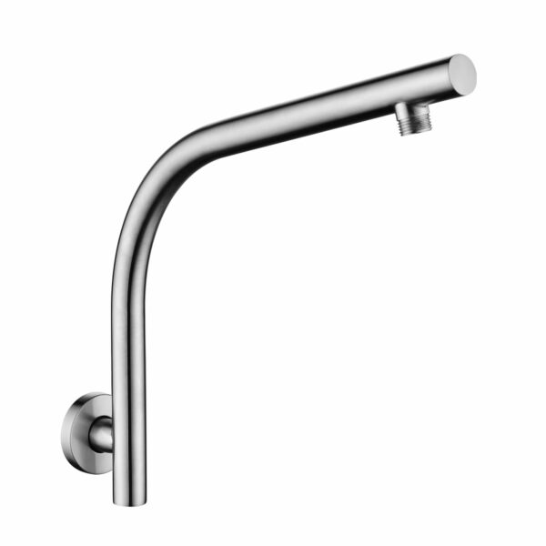 Pentro Wall Mounted Shower Arm-M Brushed Nickel