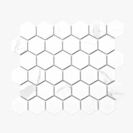 Porcelain Mosaic Hexagon 51×59 Matt Carrara