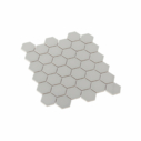 Porcelain Mosaic Hexagon 51x59 Gloss Grey