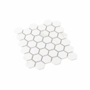 Porcelain Mosaic Hexagon 51x59 Matt Carrara
