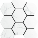 Porcelain Mosaic Hexagon 95×110 Matt Carrara
