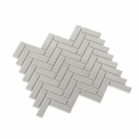 Porcelain Mosaic Mini Brick 25×75 Gloss Grey