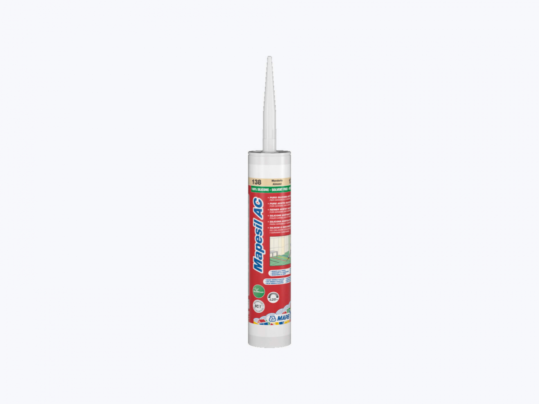 Mapei Silicone AC 103 310ml Moon White