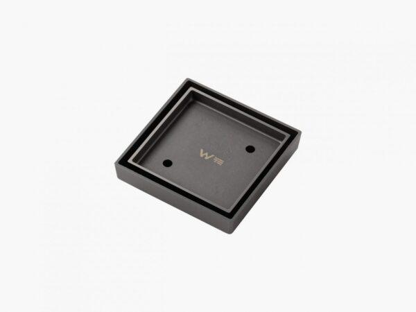 Tile Insert Floor Waste 100×100 mm gunmetal