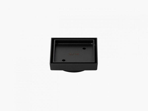 Tile Insert Floor Waste 100×100 mm black_
